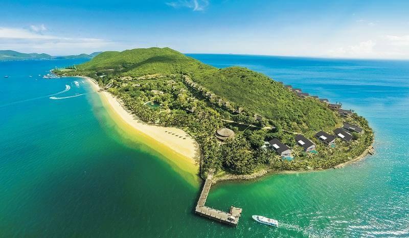 Tour 4 đảo Nha Trang Hòn Tằm